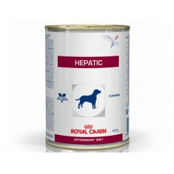 Veterinary Diet Chien HEPATIC 12 Boîtes de 420 g