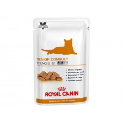 Veterinary Care Nutrition Chat SENIOR CONSULT STAGE 2 12 Sachets 100 g
