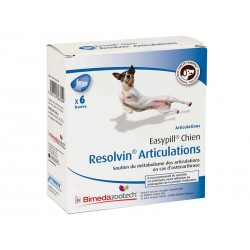 EASYPILL RESOLVIN ARTICU. CHIEN 6 BAR 28 G
