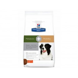 Prescription Diet Chien METABOLIC + MOBILITY POULET Sac 4 kg