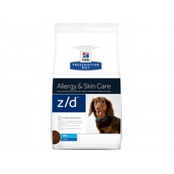 Prescription Diet Chien Z/D MINI ALLERGY Sac 1.5 kg