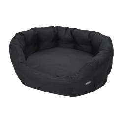 BUSTER COCOON BED NOIR 65CM