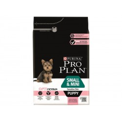 Purina Proplan Chien OPTIDERMA SMALL PUPPY SENSITIVE SKIN SAUMON Sac 700 g