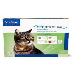 EFFIPRO DUO Chat 1-6 kg Spot-on 4 pipettes
