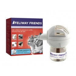 FELIWAY FRIENDS Chats Diffuseur + Recharge Flacon 48 ml