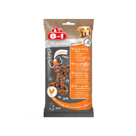 Friandise Chien 8IN1 TRAINING PRO ENERGY 100 g X 16