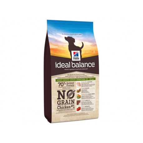 Ideal Balance Chien ADULTE POULET SANS CEREALES Sac 2 kg