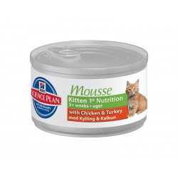 Science Plan Chat KITTEN MOUSSE 1st NUTRITION Boîtes 24 X 82 g